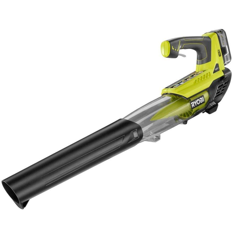 Ryobi P2180 ONE+ Cordless Blower, 18-Volt Lithium-Ion Battery, 100 mph 280 CFM