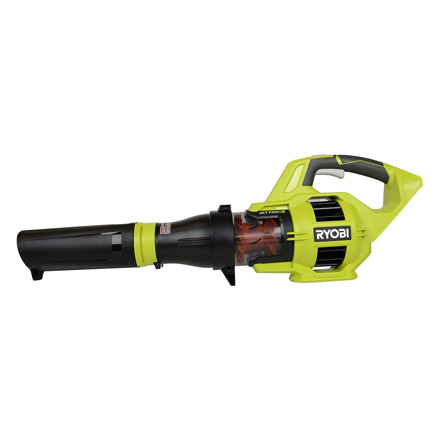 Ryobi RY40403 110 MPH Jet Fan Blowers with 40V Lithium-Ion Battery