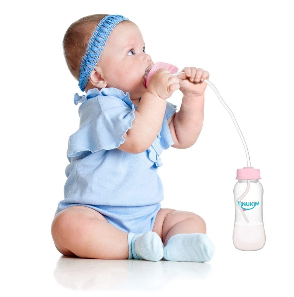 Tinukim Hands-Free Baby Bottle