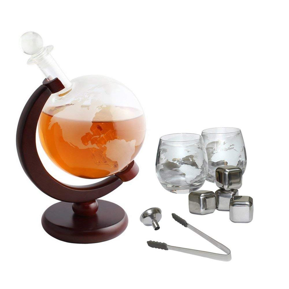 Tabletop Globe Decanter