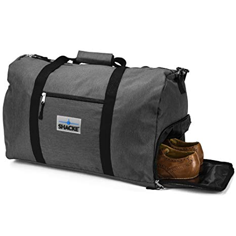 Shacke's Travel Men's Weekender Carry-On Luggage