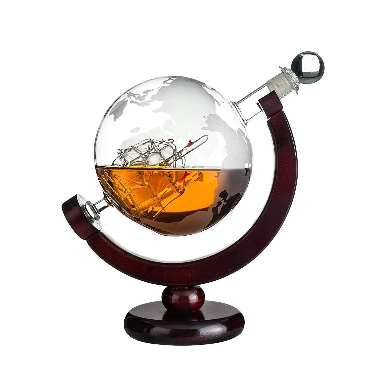 Whiskey Globe Decanter