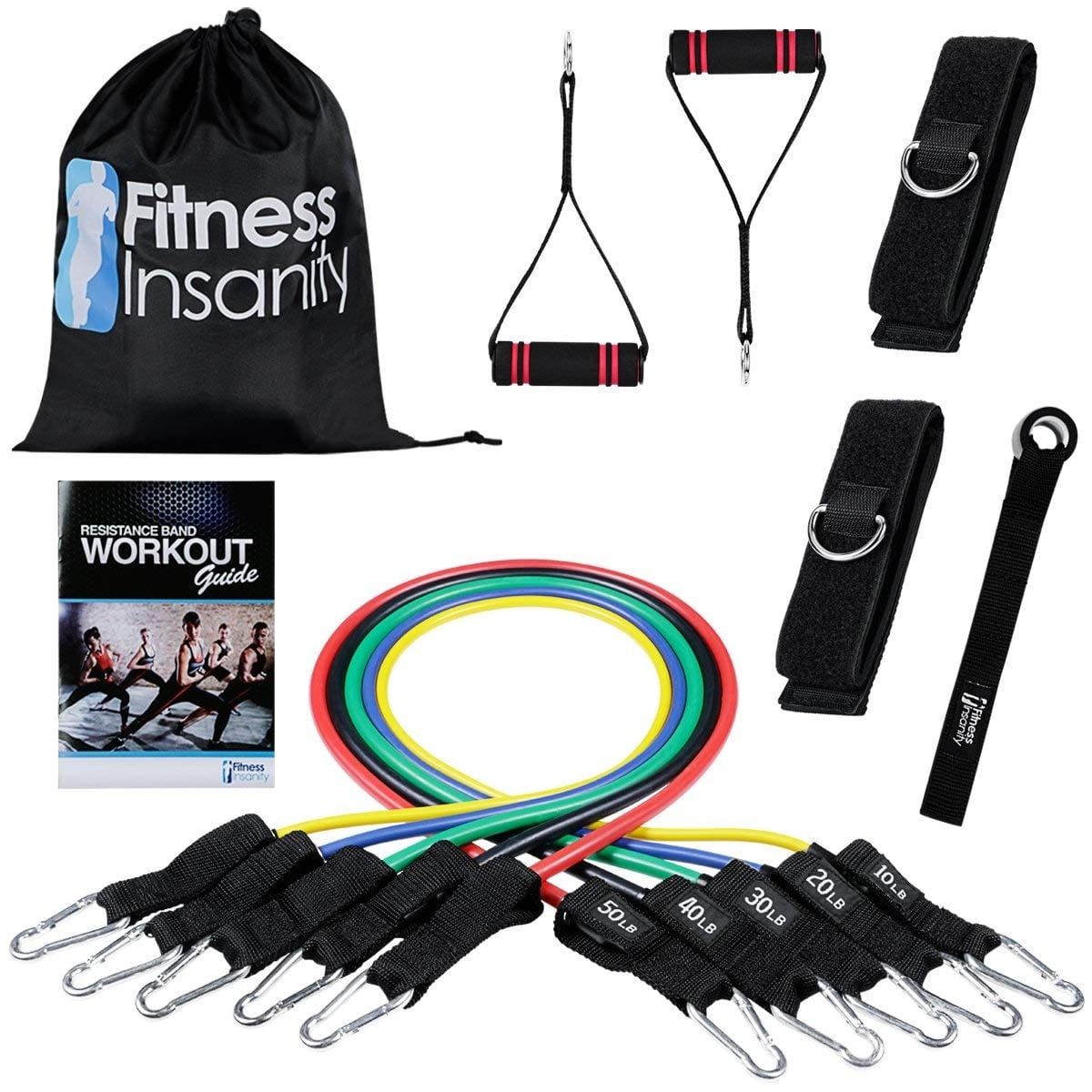 Fitness Insanity Resistance Band