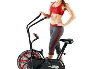 Marcy Fan Exercise Airdyne Bike, NS-100