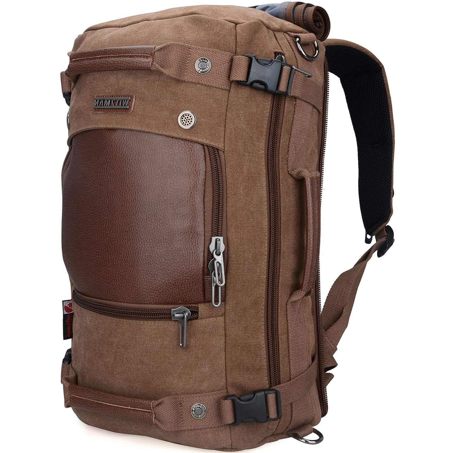 WITZMAN Men Travel Carry-On Backpack, A2021
