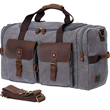 WOWBOX Duffle Men Bag Carry-On Luggage