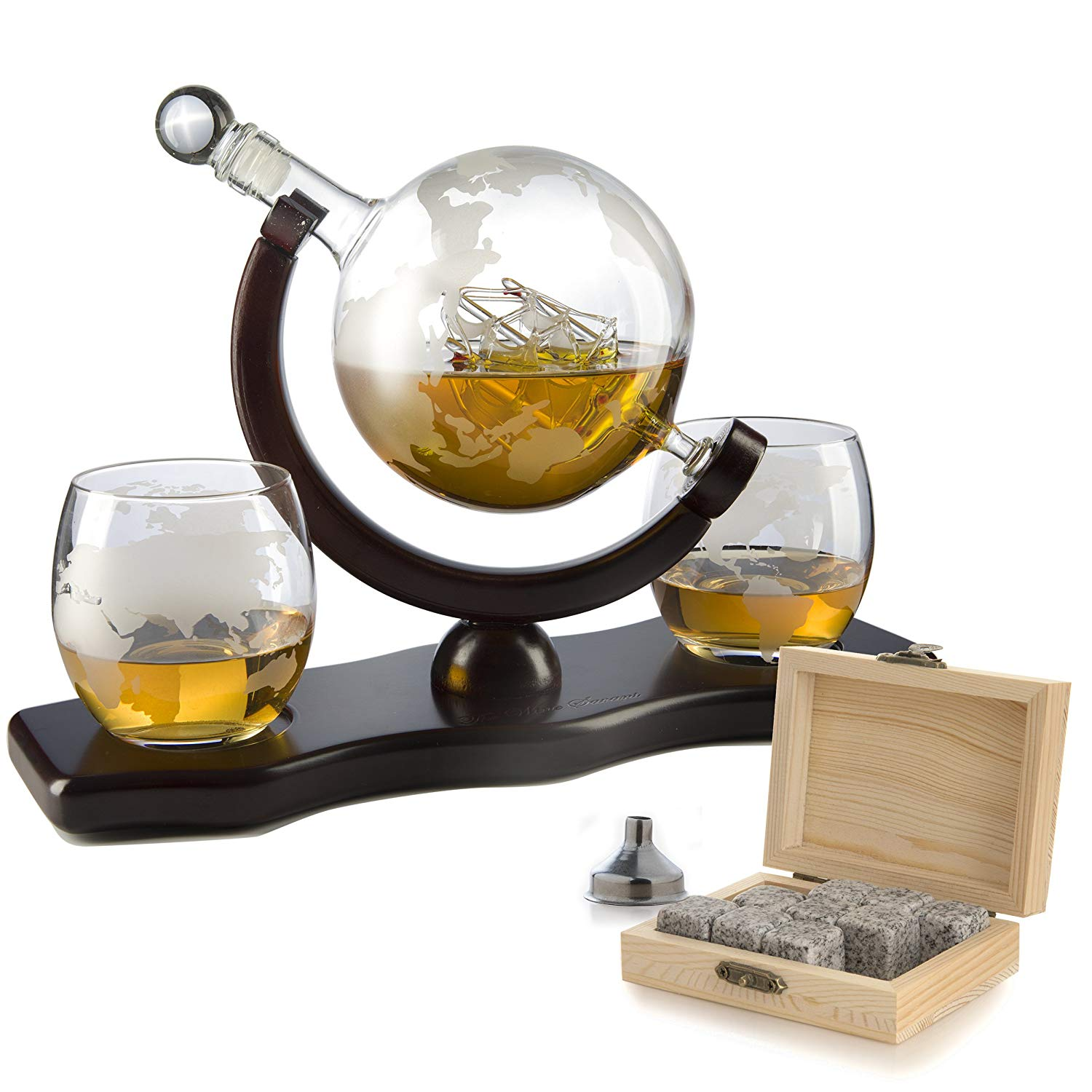 The Wine Savant Globe Decanter