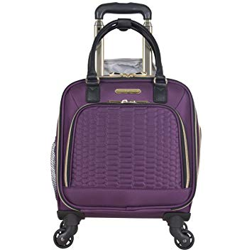 Aimee Kestenberg Women's Polyester 4-Wheel Carry-On Luggage