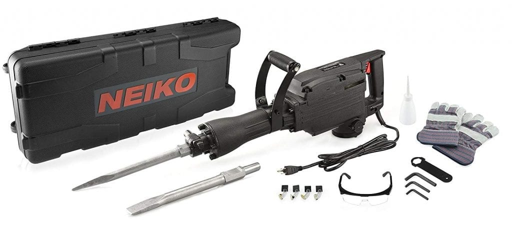 Neiko Electric 02845A Demolition Hammer
