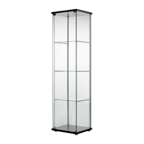 IKEA DETOLF Glass Door Kitchen Cabinet