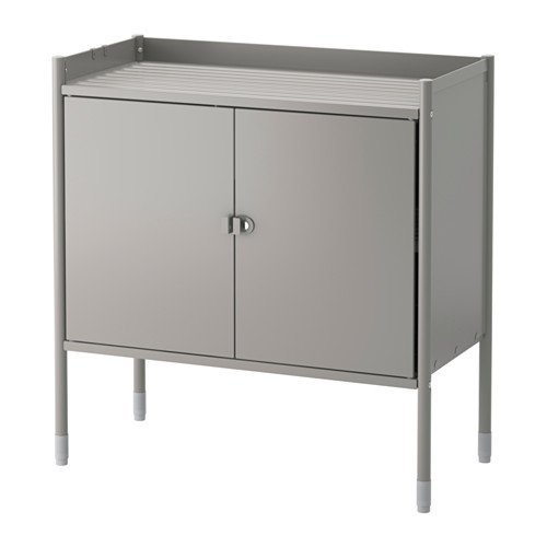 Ikea Kitchen Gray Cabinet