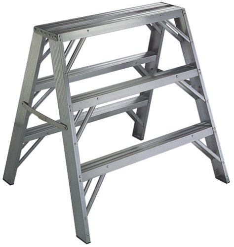 Werner 300-Pound Duty Rating Aluminum Twin Ladder, TW373