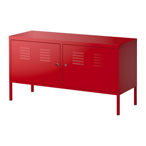 IKEA Red Kitchen Cabinet