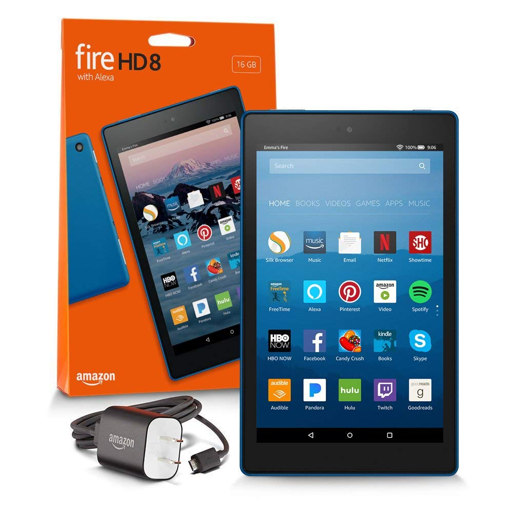 "Fire HD 8 Tablet 8"" HD Display with Alexa"
