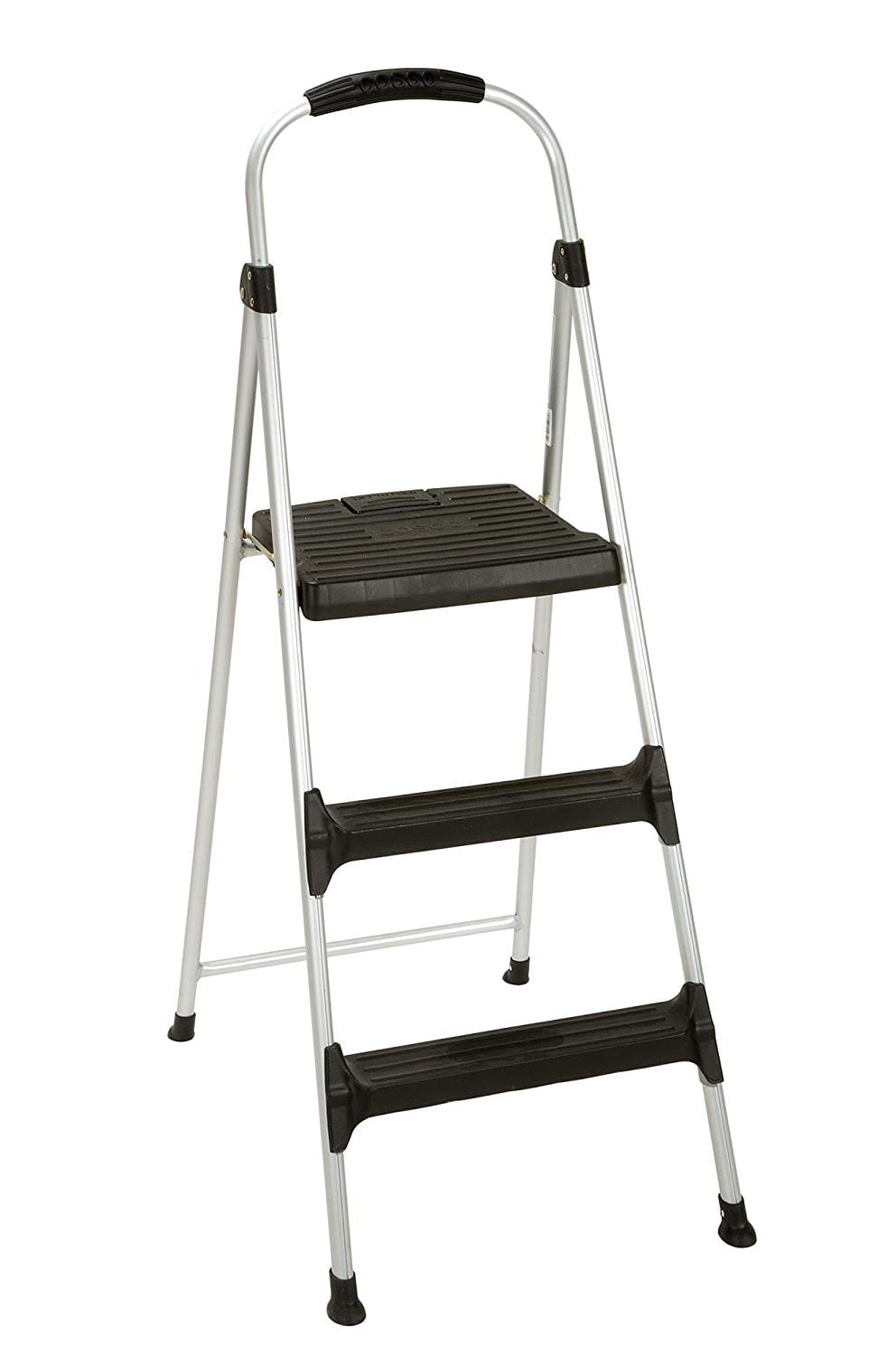 Cosco Signature Step Stool Three-Step Aluminum
