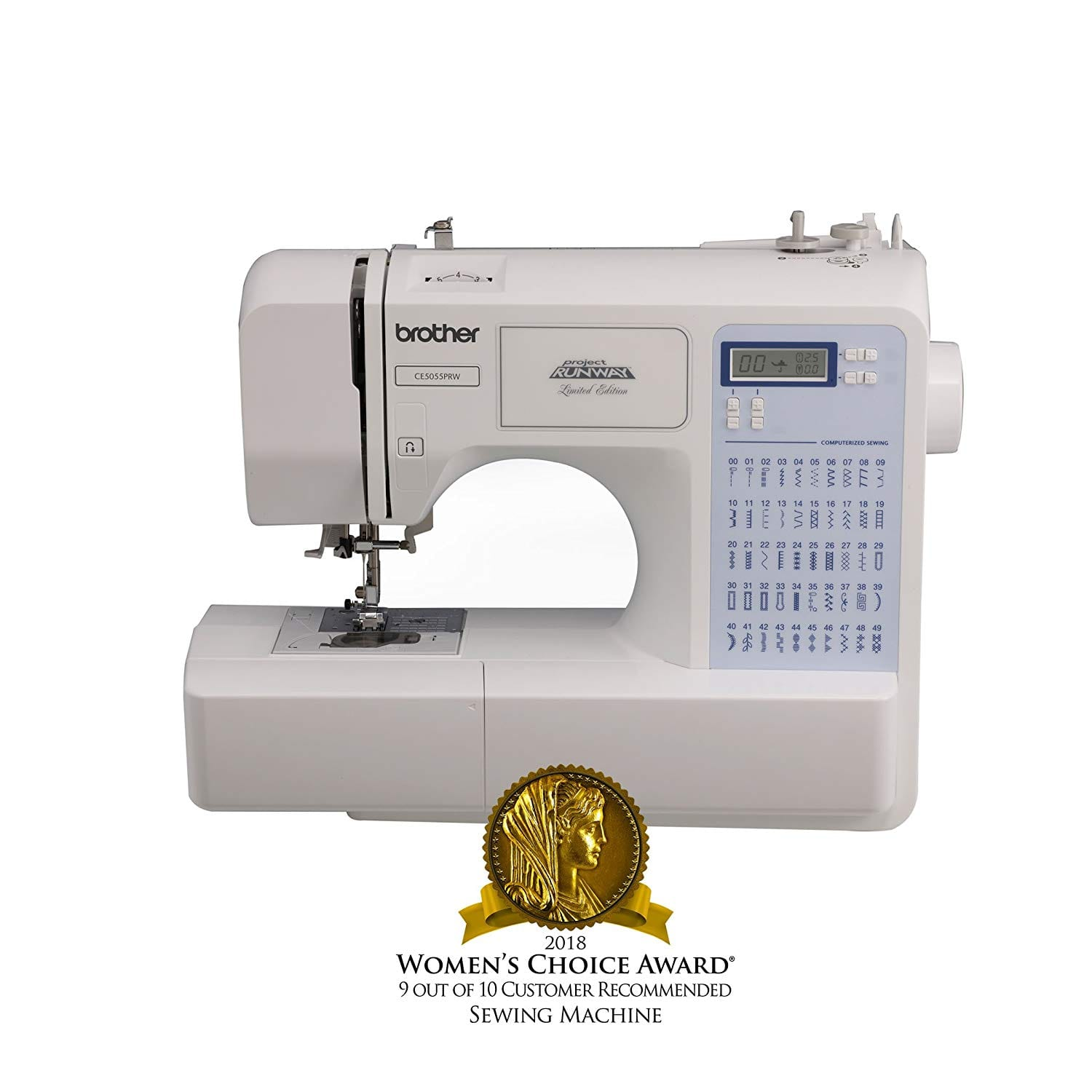 Brother Project Electric Runway CS5055PRW Sewing Machine