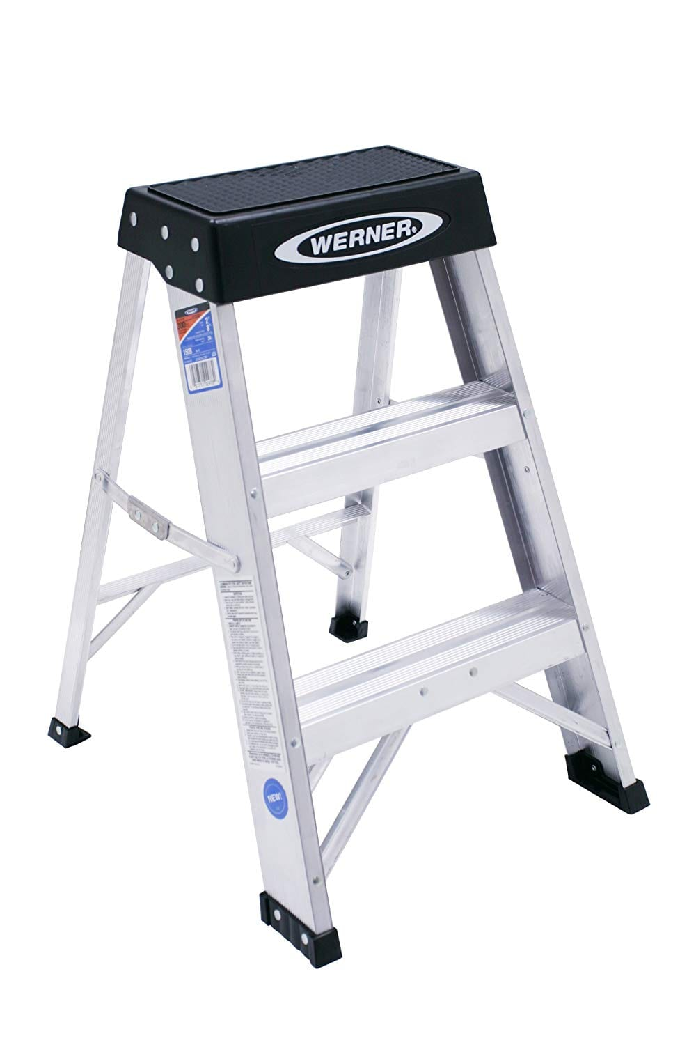 Werner 150B Duty Rating Aluminum Step Ladder