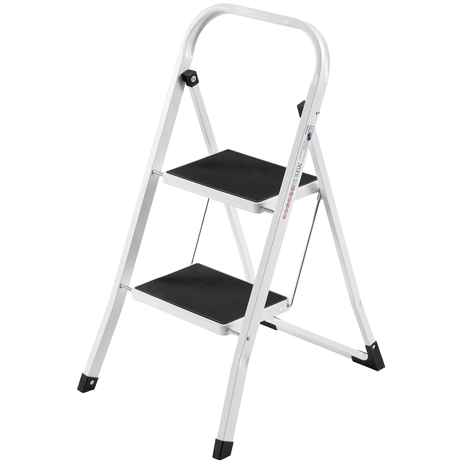 VonHaus Steel 2 Step Stool
