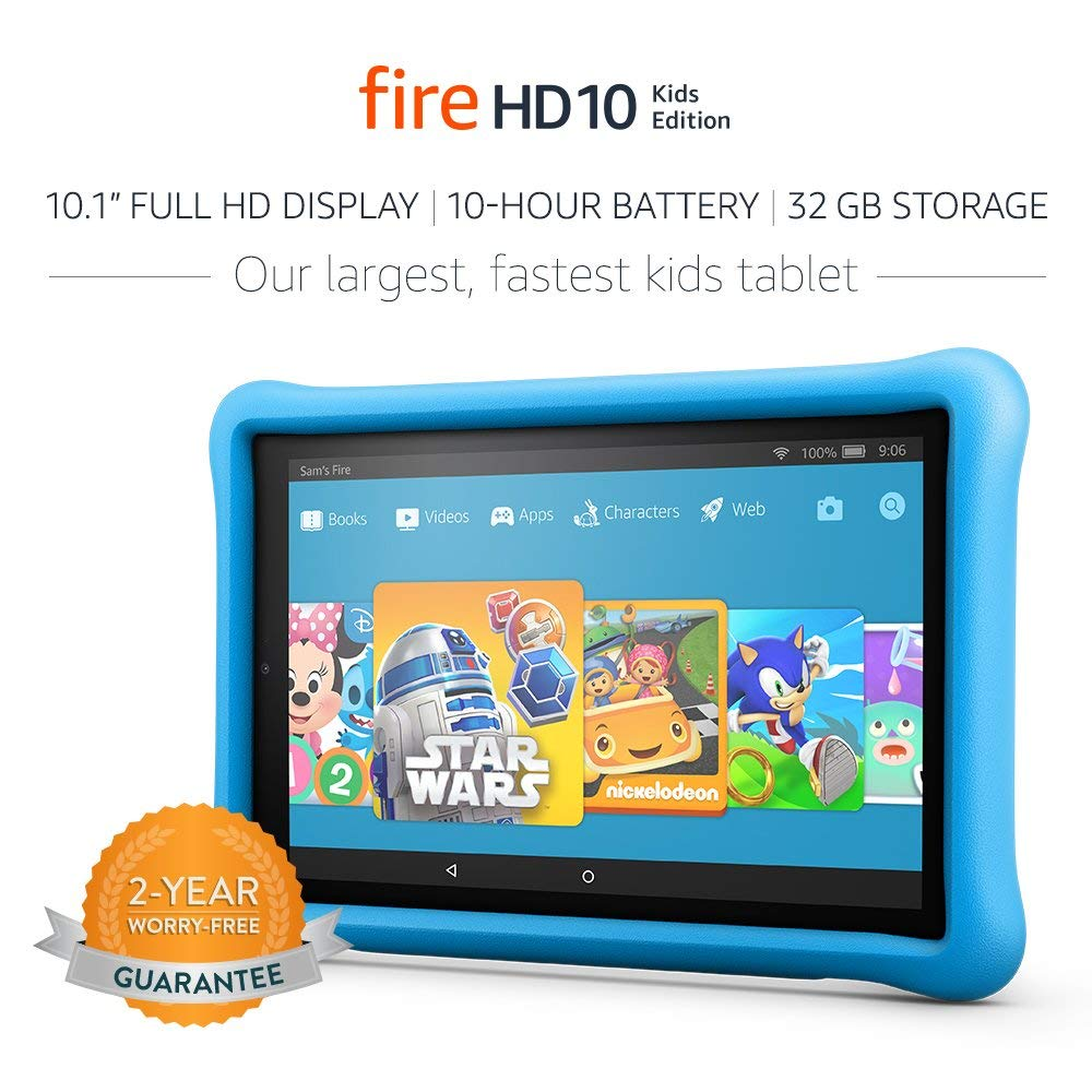 All-New Fire HD 10.1 Kids 32 GB Edition Tablet