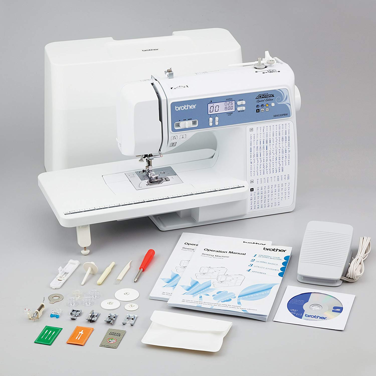 Brother, Computerized Sewing Machine, XR9550PRW