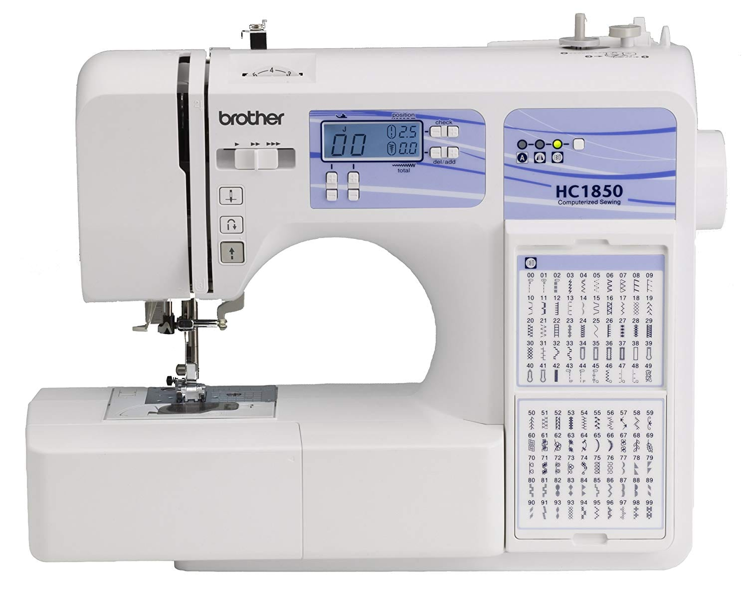Brother Computerized Sewing HC1850 and Quilting Machine