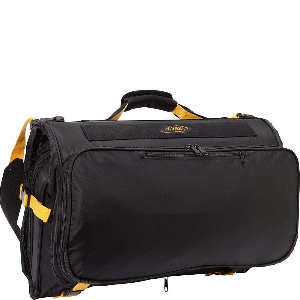 A. Saks Expandable Tri-Fold Garment Bag
