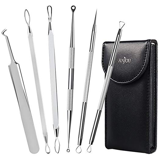 Anjou Curved Blackhead Remover