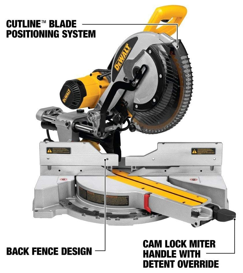 DEWALT DWS780 12-Inch Double Bevel Sliding Compound Miter Saw