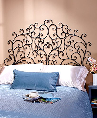 GetSet2Save Scrolled Wall Mount King Headboard