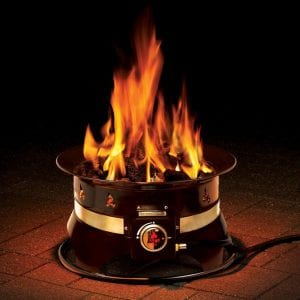 Outland Firebowl 870 Premium Outdoor Portable Propane Gas Fire Pit