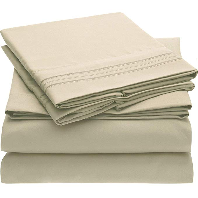 #1 Bed Sheet Set - HIGHEST QUALITY Brushed Microfiber 1800 Bedding