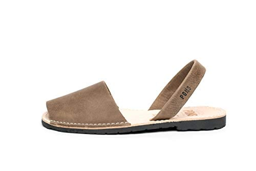 510 - Avarca Pons Classic Style Women Leather sandals