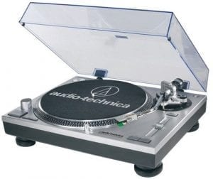 Audio-Technica AT-LP120-USB Professional Direct-Drive Turntable