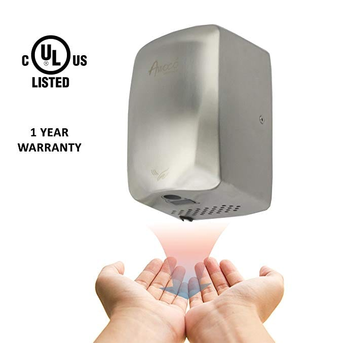 Awoco Stainless Steel Hand Dryer