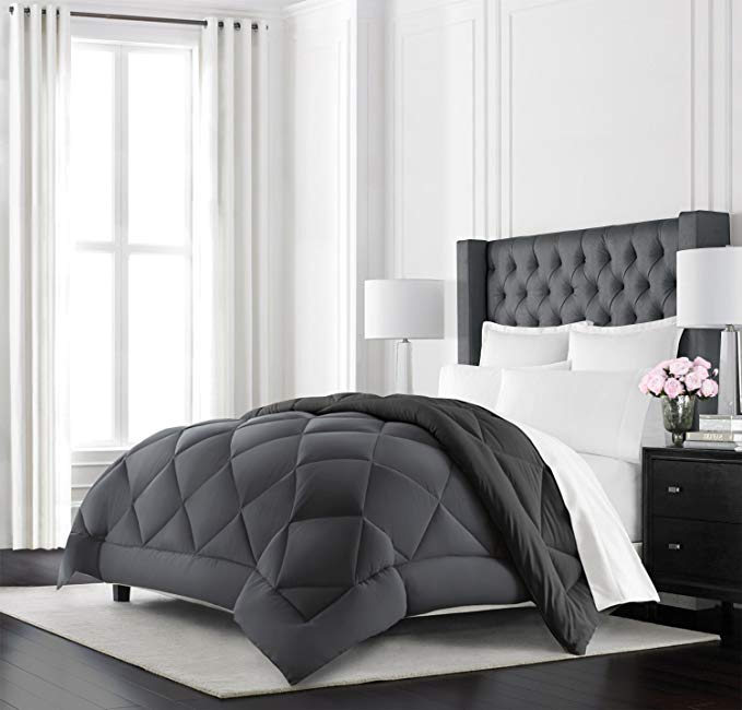 Beckham Hotel Collection reversible comforter