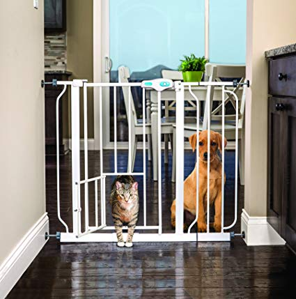 . Carlson-Extra-Wide-Walk-Through-Gate-with-Pet-Door