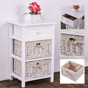 Giantex-White-Night-Stand-3-Tiers-1-Drawer-Bedside-End-Table-Organizer-Wood