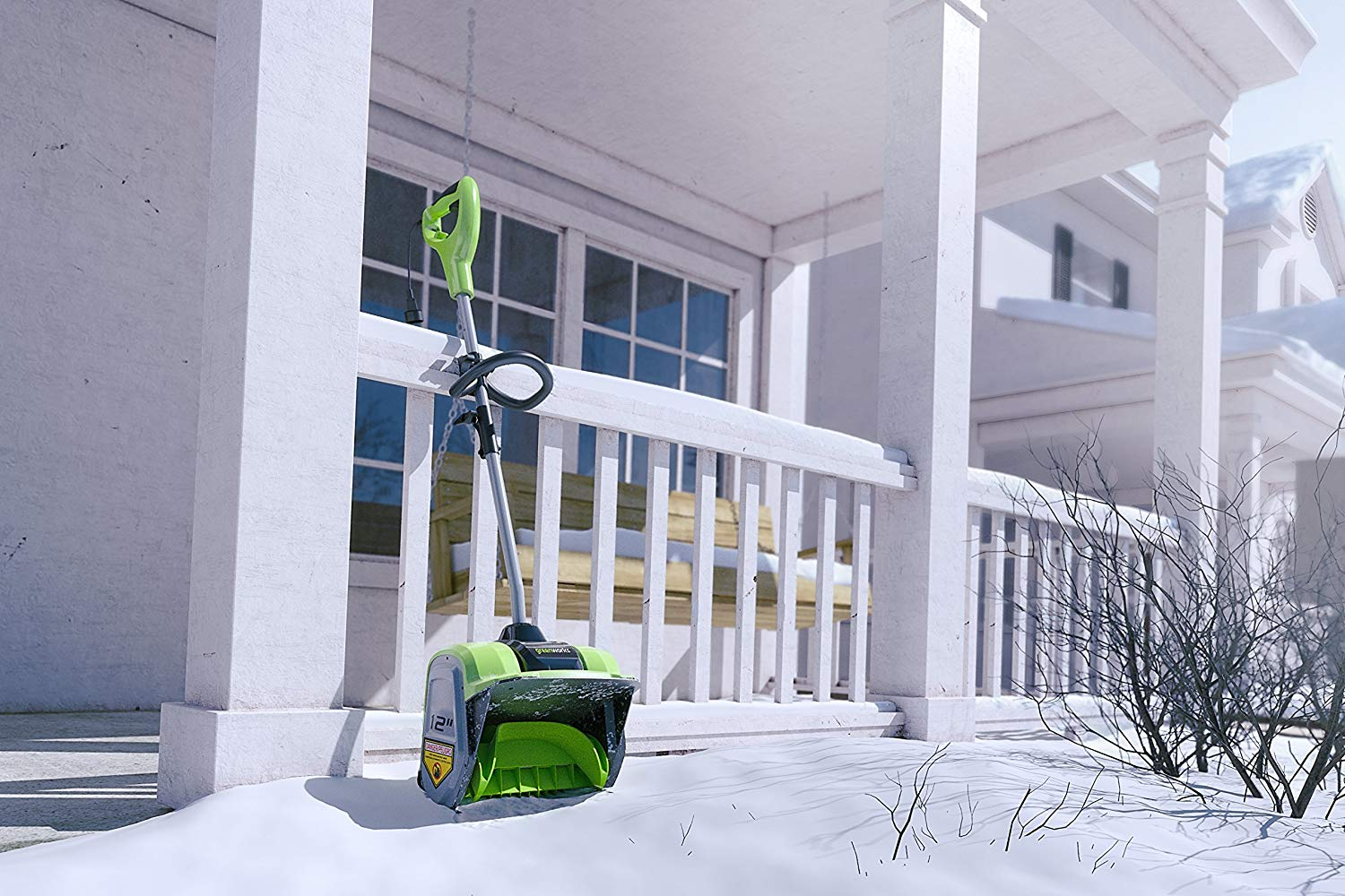 Greenworks 8-amp Electric Snow Shovel