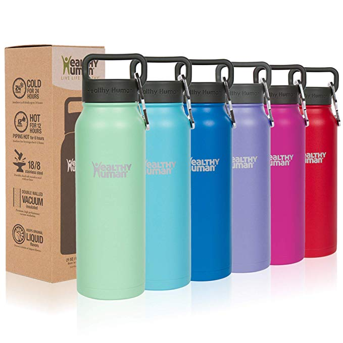 Healthy Human Classic Collection Stainless Steel Vacuum Insulated Water Bottle