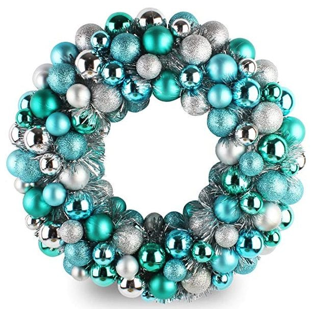 "Jusdreen 16"" Christmas Wreath"