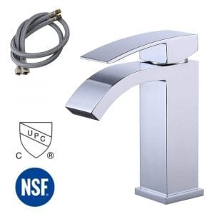 KES cUPC NSF Certified Waterfall Bathroom Faucet