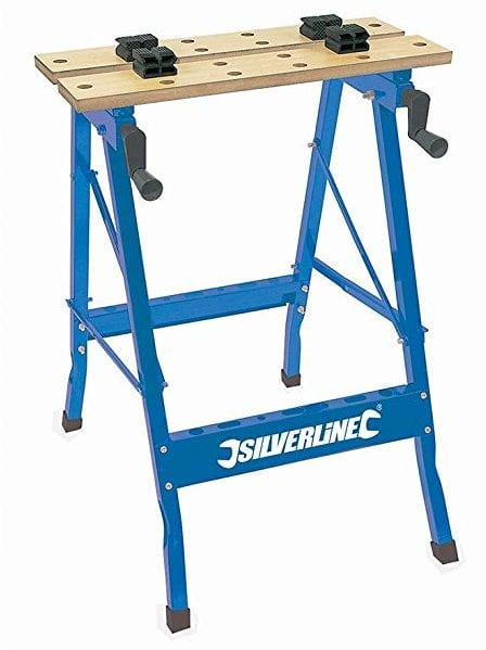 Silverline 220 Pound Capacity Portable Clamping Workbench