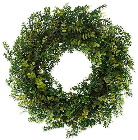 The Wreath Depot Arbor Artificial Boxwood Wreath