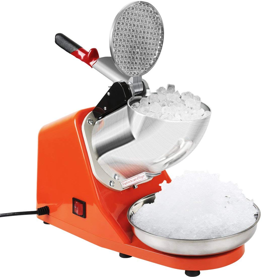Vivohome Brand Ice Crusher: Ice Shaver : Snow Cone Maker