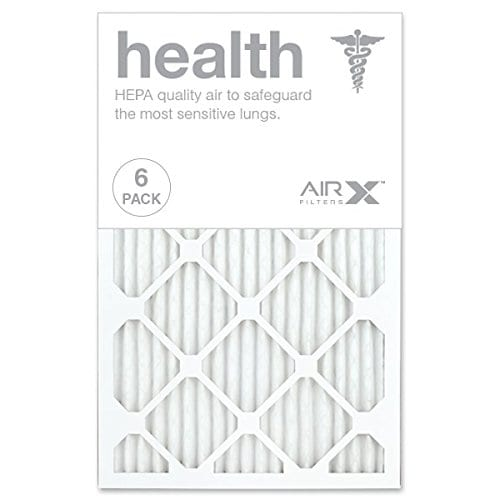 Nordic Pure 20x30x1 MPR 1000D Pleated Micro Allergen Replacement AC Furnace Air Filters 1 Pack