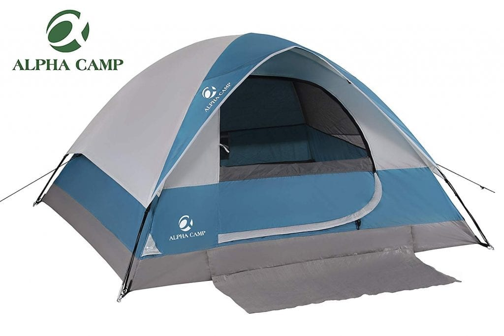 Alpha Camp 2 person Dome Backpacking tent