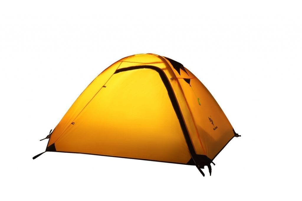 BaiYouDa 2 Person Backpacking Tent