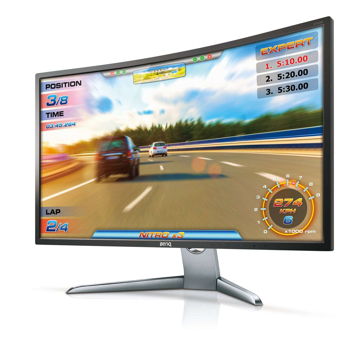 BenQ EX3200R Curved Monitor