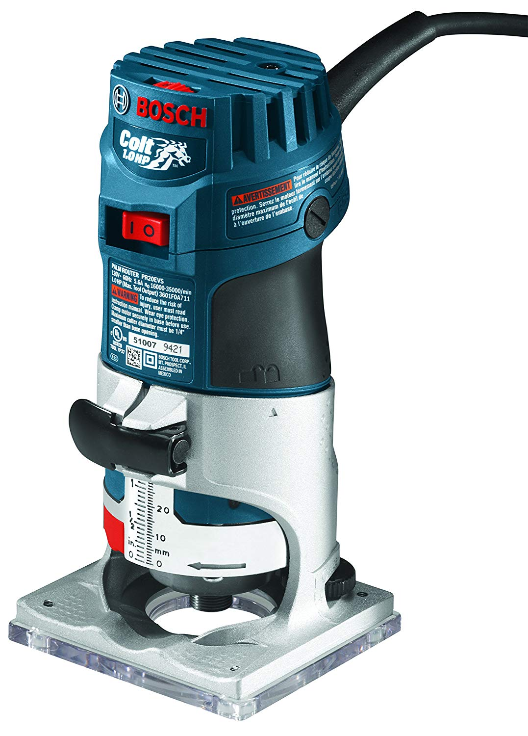 Bosch Colt 1HP Palm Router