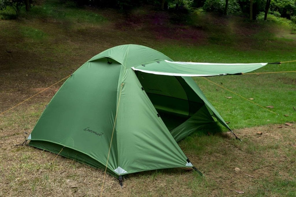 Clostnature Lightweight 2-Person Backpacking tent